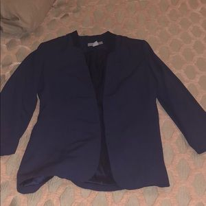 Navy blazer! Like new!